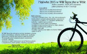 Majówka 2015 - Ślązaczka