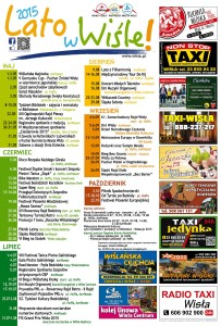 Kalendarz imprez - Lato 2015