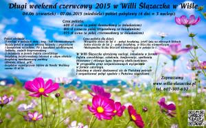 Weekend czerwcowy 2015 - Ślązaczka